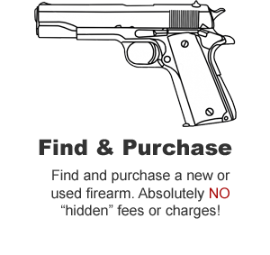 Find and Purchase a new or used firearm.