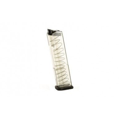 ETS MAG FOR GLK 43 9MM 12RD SMOKE