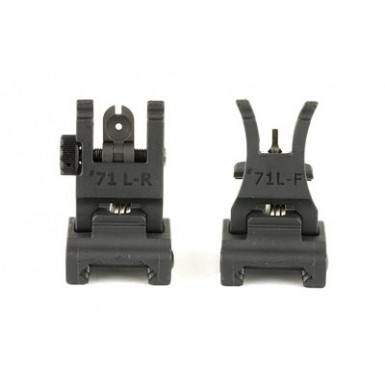 ARMS POLY FLDNG FRNT/REAR SIGHT SET