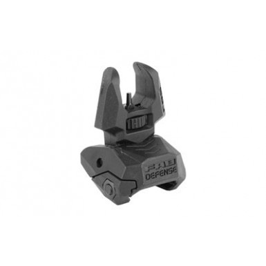 FAB DEF FRONT POLY FLIP-UP SIGHT BLK