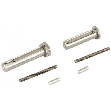 BAD ENHANCED PIN SET TITANIUM