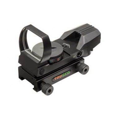 TRUGLO RED DOT OPEN 4 RETICLE BLACK