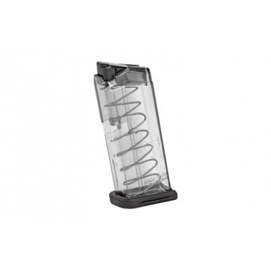 ETS MAG FOR GLK 43 9MM 7RD SMOKE