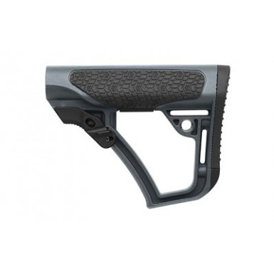 DD COLLAPSIBLE MIL-SPEC STOCK GRY