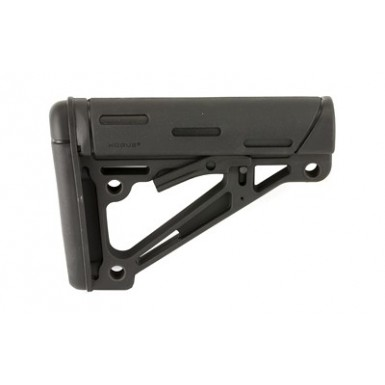 HOGUE AR15 STK COMMERCIAL RBR BLK