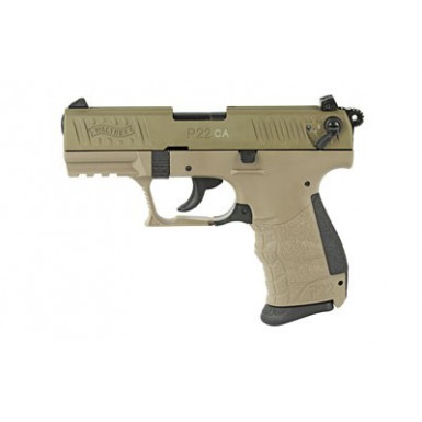 """Walther P22 22LR 3.4"""" FDE..."""