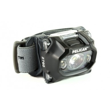 PELICAN 2760C HEAD LIGHT BLK LED