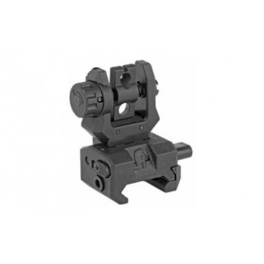 CAA LOW PROFILE REAR FLIP SIGHT BLK