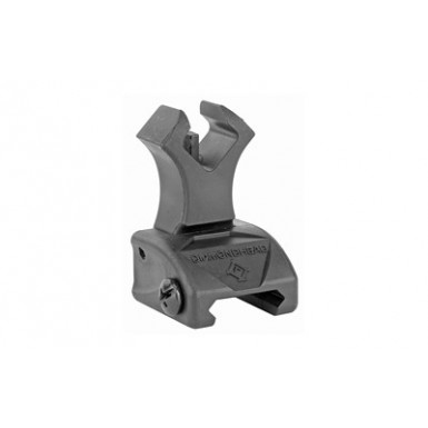 DMDHD POLY DIAMOND FRONT SIGHT BLK