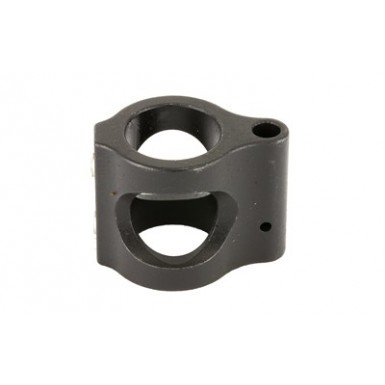 2A STEEL GAS BLOCK .625 BORE BLK