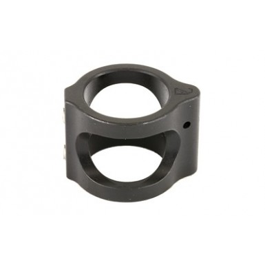 2A STEEL GAS BLOCK .875 BORE BLK